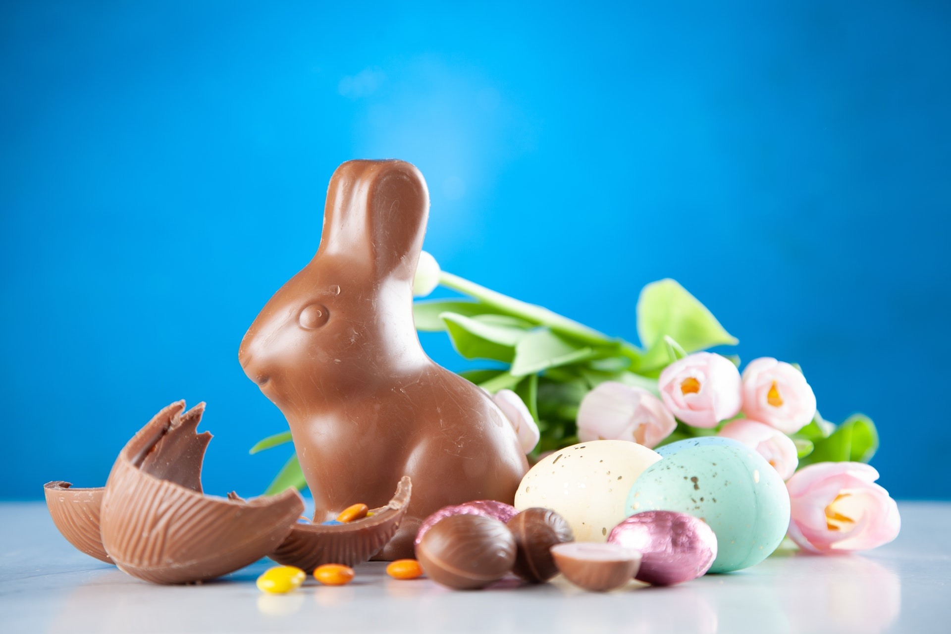 Finding Chocolate That Isn't Totally Terrible for You Easter Chocolate Bunny